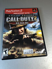 Call of Duty 2: Big Red One - Special Edition (Sony PlayStation 2, 2006) PS2