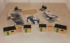 JOB LOT of AUTHENTIC HORNBY R574 TRACKSIDE / LINESIDE EQUIPMENT , MOSTLY NEW !!