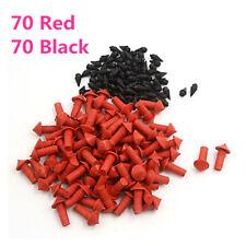 140Pcs Universal Mushroom Shaped Tire Repair Rasper Insert Plugs Red Black 7mm