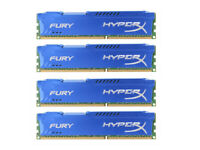 Para Kingston HyperX 4GB 8GB 16GB PC3-10600 DDR3-1333MHz DIMM Blue Desktop RAM