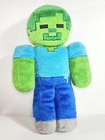 "Minecraft Steve Creeper Zombie Soft Plush Toy Doll 13"" Jinx Mojang Green"