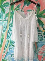 NEW LILLY PULITZER ALANNA OFF THE SHOULDER DRESS /S/M