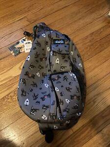 Kavu Rope Sling Bag Sasquatch Limited Edition CAMP SASQUATCH WILD ROPE Backpack