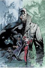 Mondo DC Batman Hush Jim Lee 24 x 36 2019 SDCC COMIC CON Exclusive LE 275