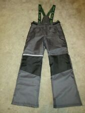 XMTN INSULATED WATERPROOF BIB SNOWBOARDING PANTS BOYS LARGE 14