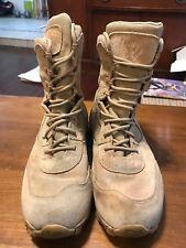 Men's Sz 8.5M Blackhawk Warrior Wear Desert Ops Boots Coyote Brown Combat