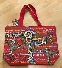 6X Australian Souvenir Large Travel Bags New Design Sydney Melbourne Aboriginal