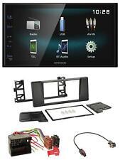 Kenwood AUX Bluetooth USB MP3 2DIN Autoradio für BMW 5er E39 X5 Quadlock