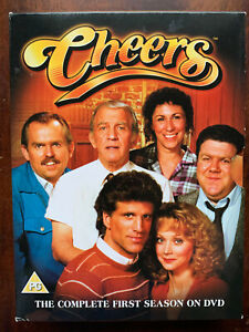 Cheers Season 1 DVD Box Set Classic 1980s TV Series w/ Ted Danson