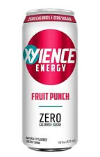 XYIENCE Energy Drink   Fruit Punch   Sugar Free   Zero Calories   Natural