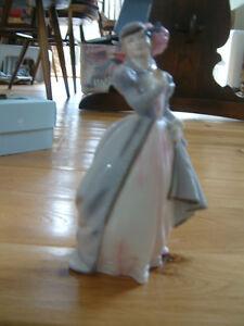 Royal Worcester Masquerade  figurine-fine bone china-made in England