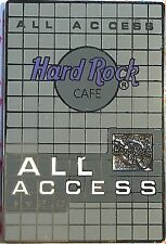 Hard Rock Cafe All Access 2002 Membership Card Pin Hrc New # 13128