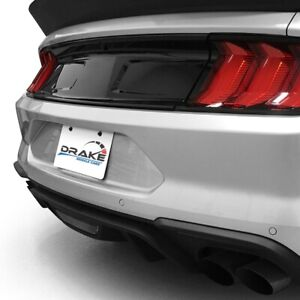 Black Tail Panel Insert For 2015-2020 Ford Mustang by Drake