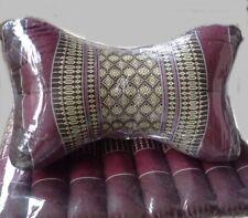 Thai Star Neck Pillow Cushion Handmade Kapok 100% Cotton Home Decor Yoga gym