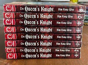 THE QUEEN'S KNIGHT Tokyopop Graphic Novel Manga Kim Kang Won 1-8 English