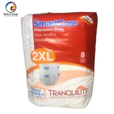Tranquility Smartcore 2XL Disposable Brief 8 Pack Adult  Max Protection SDS&H