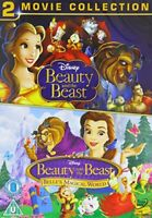 Beauty And The Beast/Belles Magical World Doublepack [DVD] [1992][Region 2]