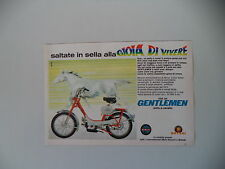 advertising Pubblicità 1968 BENELLI MOTOBI GENTLEMEN 50