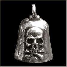 GREMLIN BIKER BELL SKULL & CROSSBONES FOR HARLEY DAVIDSON guardian spirit