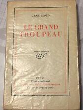 Le grand troupeau - Jean Giono - Edition originale