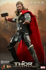 "Hot Toys THOR The Dark World 12"" Inch Action Figure HOT Chris Hemsworth NEW"