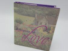Shakespeare On Love Pocket Gift Book Valentine 1999 Sonnet