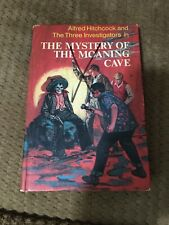 ALFRED HITCHCOCK'S THE MYSTERY OF THE MOANING CAVE Three Investigators #10 Rare