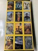 Vintage Lot of National Geographic Magazines 1993 + 1996 - 21 Issues
