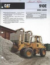Equipment Brochure - Caterpillar - 910E - Wheel Loader - 1990 (E3945)
