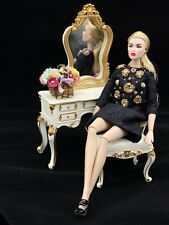 Fashion Royalty_Integrity Toys_Silkstone Barbie Doll_Mirrored Vanity Set_1/6_NEW