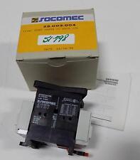 SOCOMEC 25A 600VAC CONTACTOR 23.003.004 NIB
