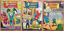 Action Comics #330, 331, 332 (1965, DC) Superman, Supergirl, nice, Curt Swan art