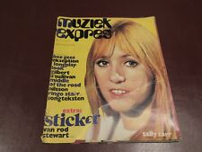 MUZIEK EXPRES  vintage european music magazine from May 1972