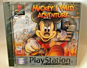 Brand New Sealed PAL Mickeys Wild Adventure PS1