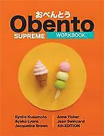 Obento Supreme Workbook 4th Edition WITH CD Japanese English Language Paperback