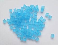 Miyuki Cubes 4x4 Blue Topaz  SB148F  bei Calisto