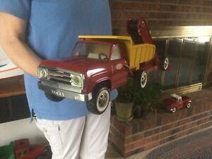 Vintage Tonka Trucks Pressed Steel Dump Truck & Sand Loader  (Nice!)