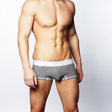 CROOTA AUSTRALIA Mens Underwear Boxer Briefs, Satin Band Lo Rise Hipster, SMALL