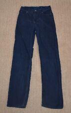 Lands' End Boys 16 Slim Navy Blue Corduroy Pants Adjustable Waist