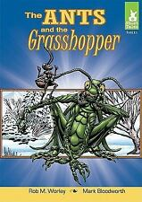 The Ants and the Grasshopper (Short Tales: Fables)-ExLibrary