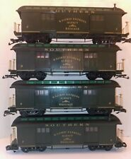Set of 4 Southern Railway Express Agency Baggage Cars Suwannee River Special Lot