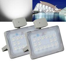 2X 50W LED Fluter mit PIR Bewegungsmelder Flutlicht Kaltweiß Aussenstrahler IP65