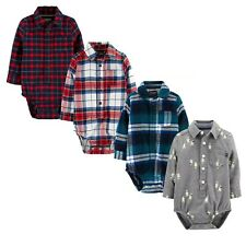 NWT OshKosh Bgosh Baby Boy Plaid...