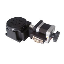 Electric Optical Rotating Platform Motorized Rotation Stages 60mm Bearing Scales