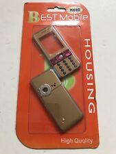 Sony Ericsson K660i Full Fascia Housing Cover Front Back Case Keypad Gold