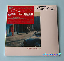 TOTO Fahrenheit JAPAN MINI LP CD DSD masterizzazione Brand NEW & STILL SEALED