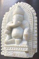 Hindu Hand carved stone Statue Hindu Elephant God