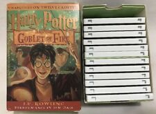 Harry Potter and the Goblet of Fire Unabridged Audio Book on 12 Cassette Tapes