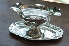 French all sterling silver 950/1000  Sauce bowl  475g   Louis Coignet  19ThC