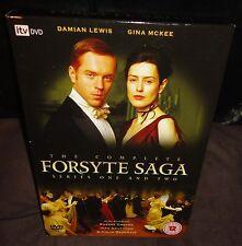 The Complete Forsyte Saga Series 1 & 2 (DVD, 2006, 4-Disc Set) Damian Lewis